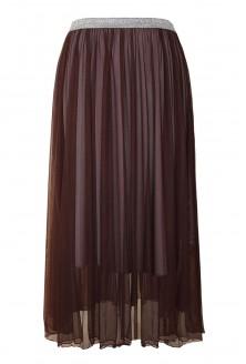 brązowa spódnica tiulowa Holly
