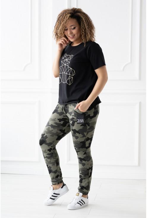 spodnie dresowe Gladys - rozmiary xxl