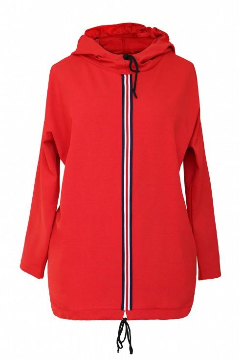czerwona bluza Martha