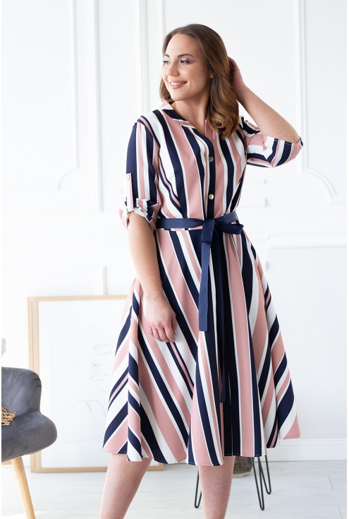 sukienka retro plus size