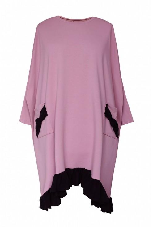 różowa sukienka esta