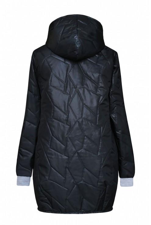 czarna kurtka Carolina - duże rozmiary