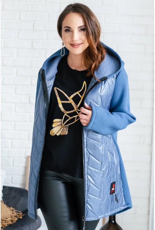 jeansowa kurtka bluza xxl