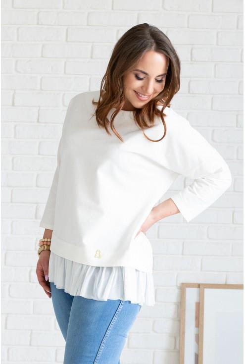 kremowa bluzka caitlin
