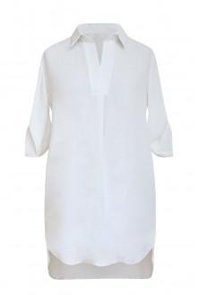biała koszula plus size xxl