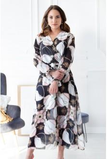 sukienka maxi łańcuchy rozmiary plus size