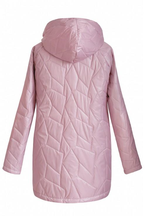 pikowana różowa kurtka xxl