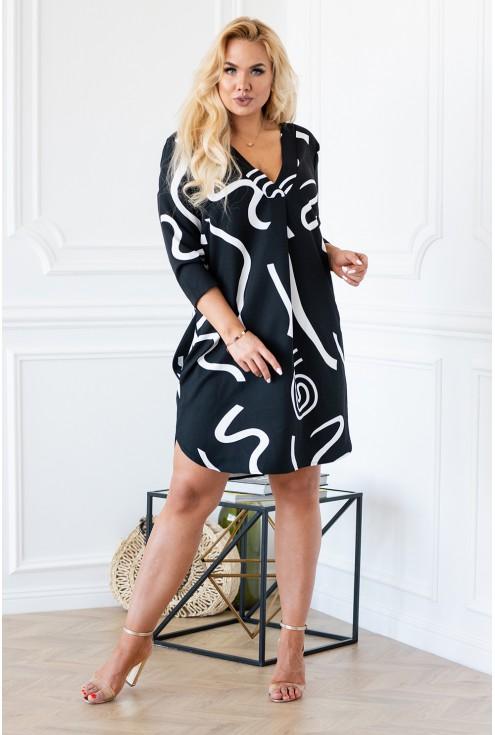 wyszczuplająca sukienka plus size sklep online