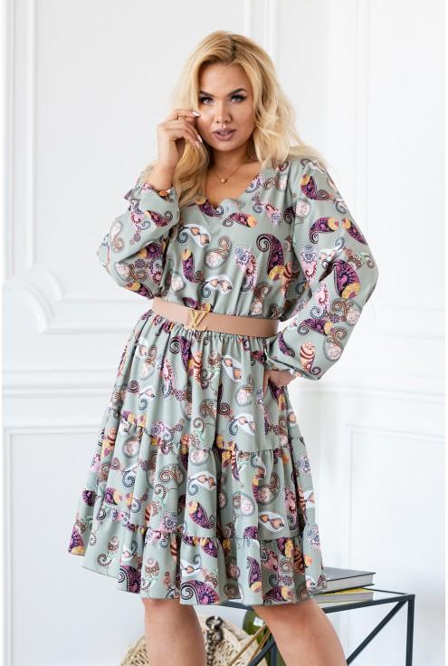 sukienka w stylu boho sklep xlka