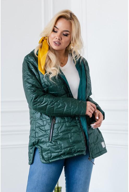 butelkowa cienka kurtka jesienna xxl
