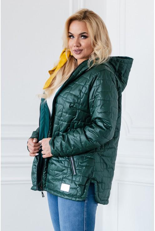 butelkowa kurtka przejściowa cienka sklep xlka