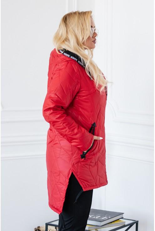 bok czerwonej kurtki xxl