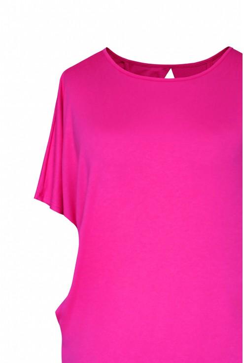 bok różowej bluzki xxl