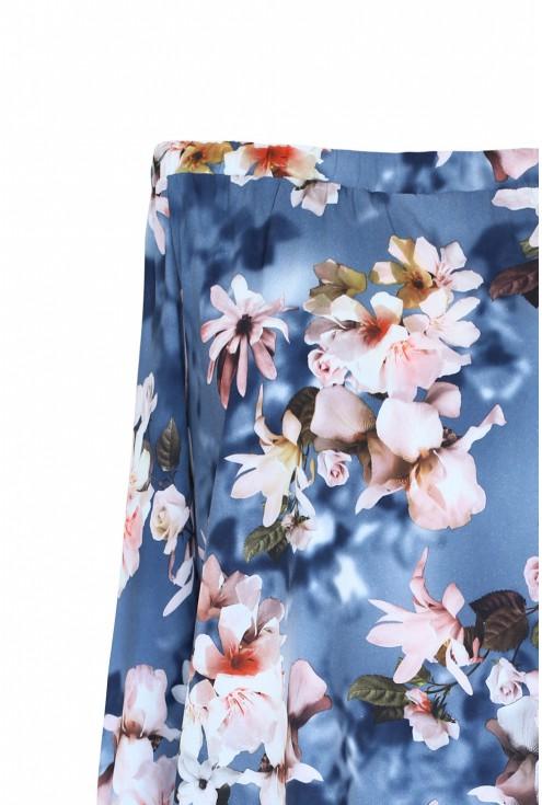 bluzka hiszpanka w kwiaty duże rozmiary plus size