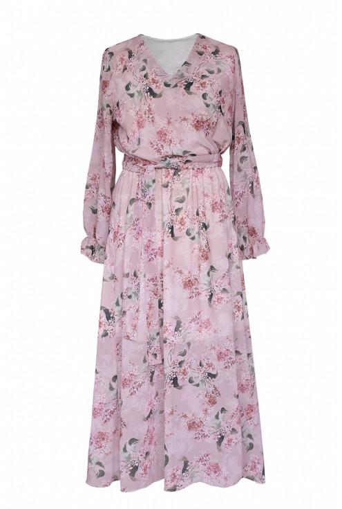 różowa sukienka valentina xxl