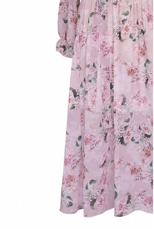 sukienka w kwiaty duże rozmiary plus size