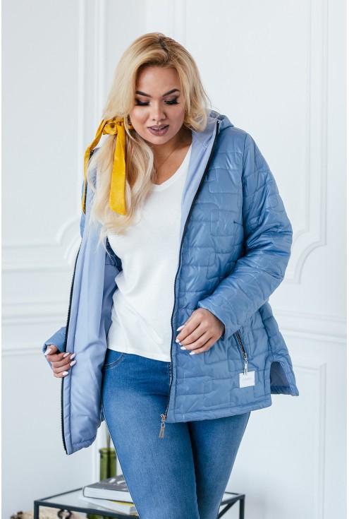 jasnoniebieska kurtka xxl