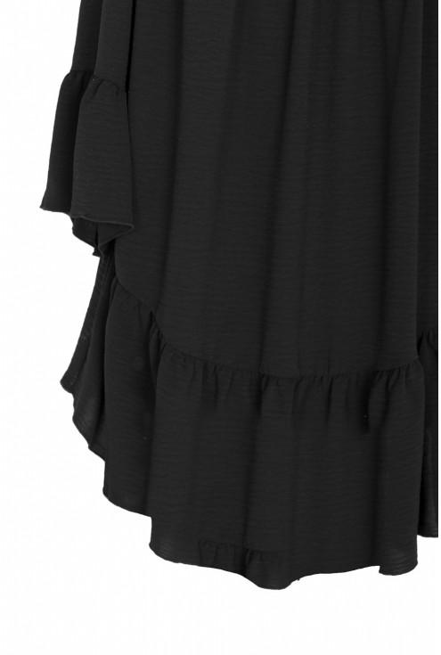 Czarna bluzka hiszpanka FIORELLA