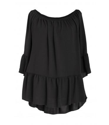 Czarna bluzka hiszpanka FIORELLE