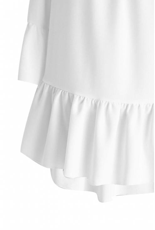 Biała bluzka hiszpanka FIORELLE
