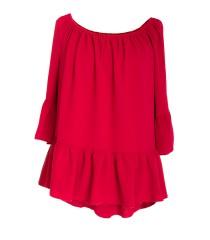 Czerwona bluzka hiszpanka FIORELLE
