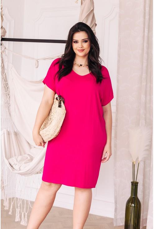 sukienka  xxl dostępna w dużych rozmiarach