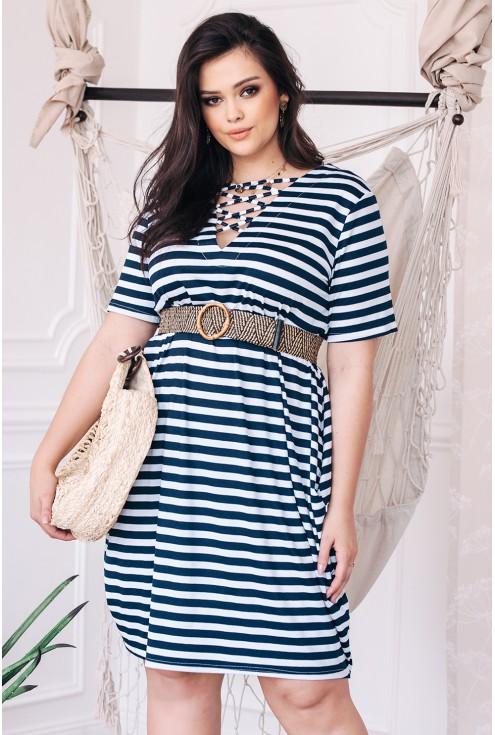 sukienka xxl luźna bawełniana duże rozmiary xlka