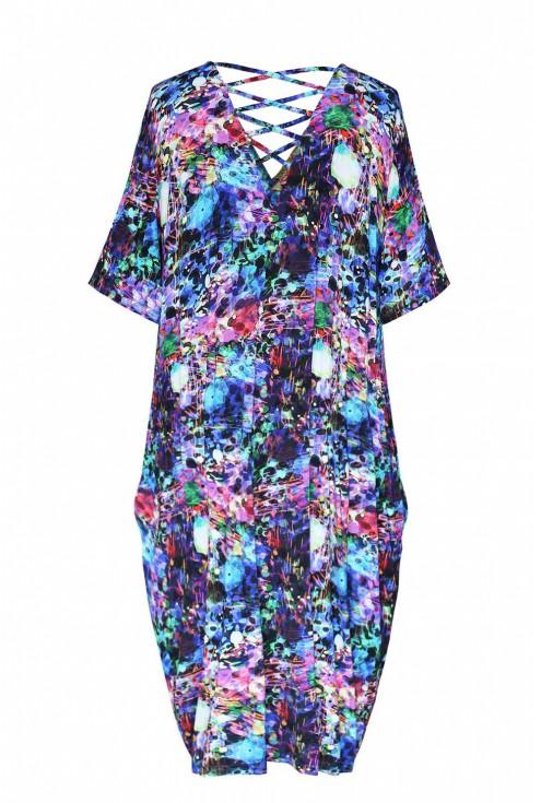 Kolorowa sukienka - LOLITA