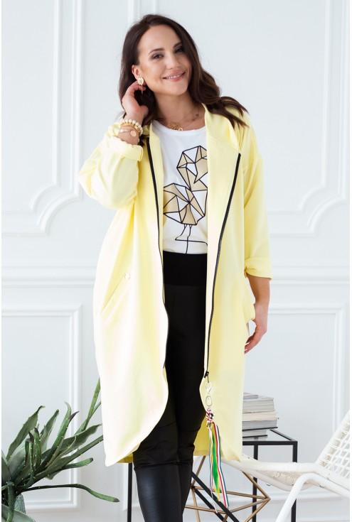 żółta bluza xxl