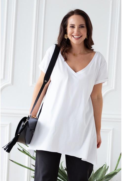 czarna pojemna elegancka torebka