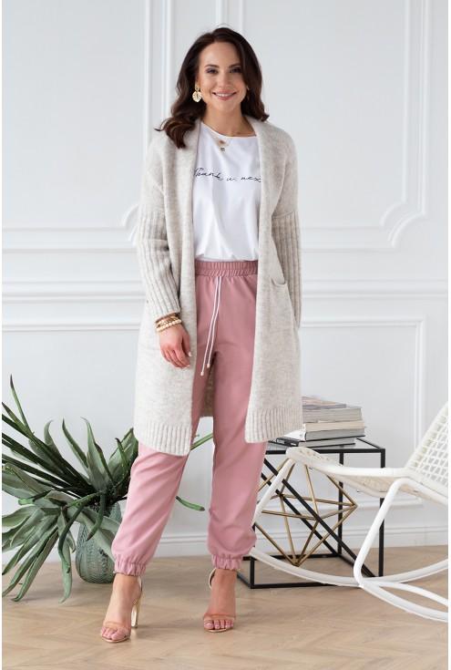 rozpinany sweterek narzutka lisette