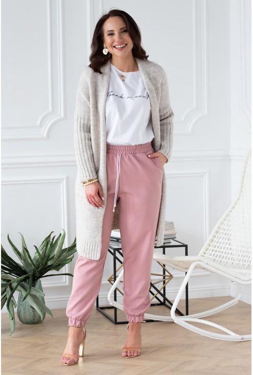 sweterek beżowy xxl