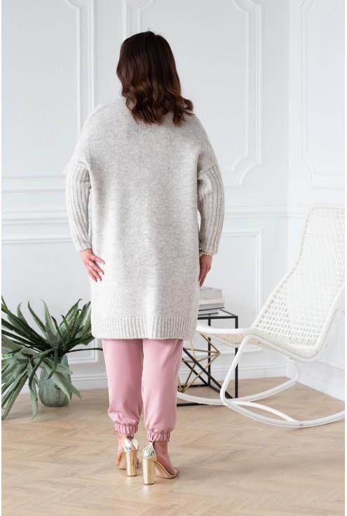 tył sweterek narzutka lisette