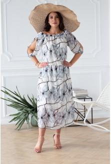 letnia sukienka hiszpanka plus size