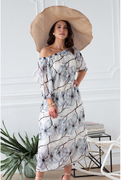 wakacyjna sukienka xxl