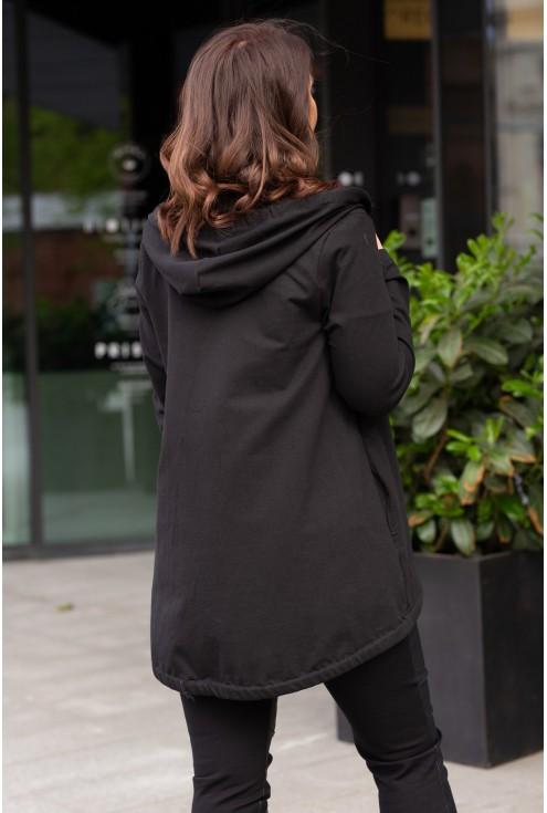 tył czarnej bluzy alizee