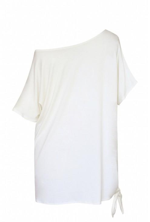 bluzka na jedno ramie xxl tył