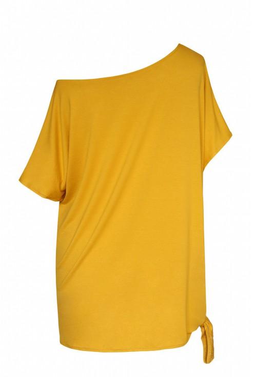tył miodowej bluzki xxl