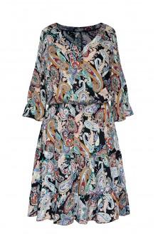 lekka sukienka w orientalne wzory xlka