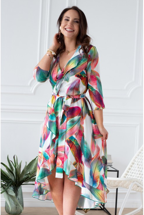 zwiewna kobieca sukienka xxl