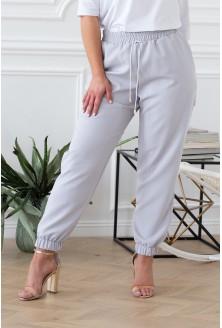 szare spodnie viviane duże rozmiary