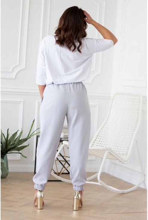 eleganckie komfortowe spodnie xxl