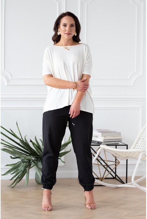czarne spodnie xxl