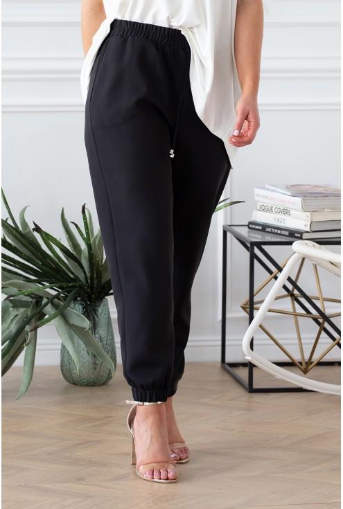 czarne spodnie viviane