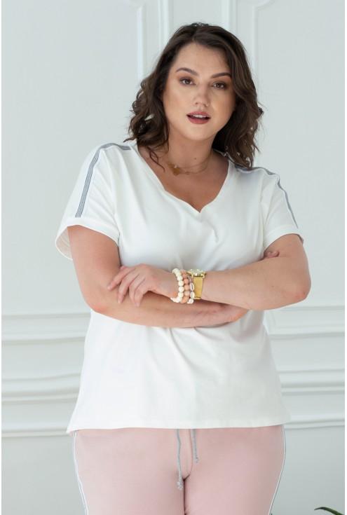 biała koszulka xxl