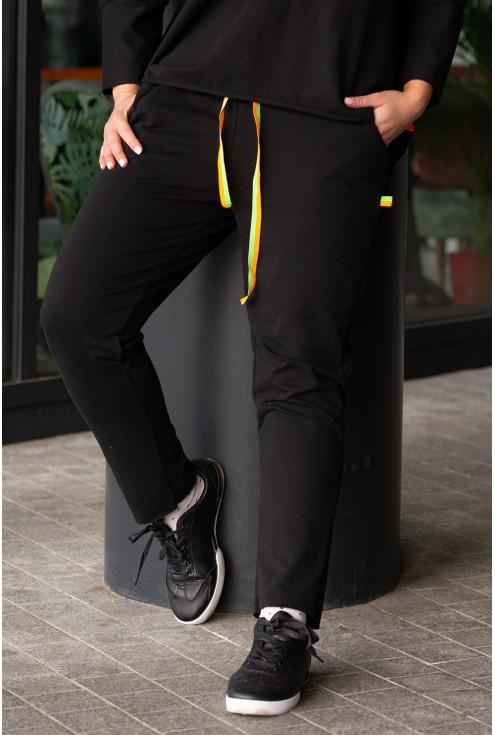 spodnie dresowe neon  xxl