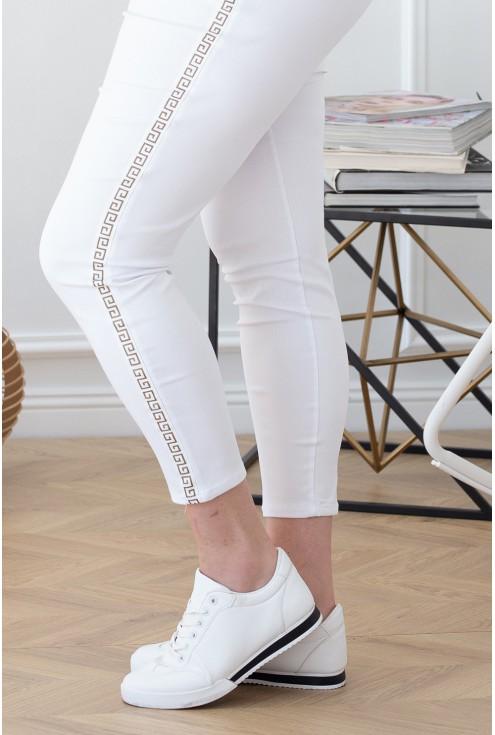 wygodne spodnie dresowe z wzorem xxl