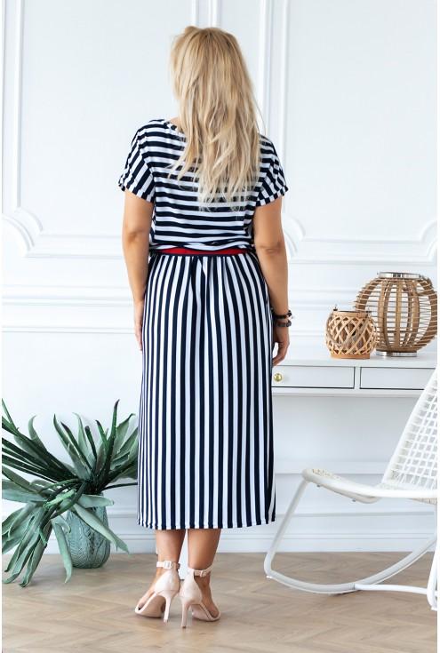 wygodna sukienka maxi xxl