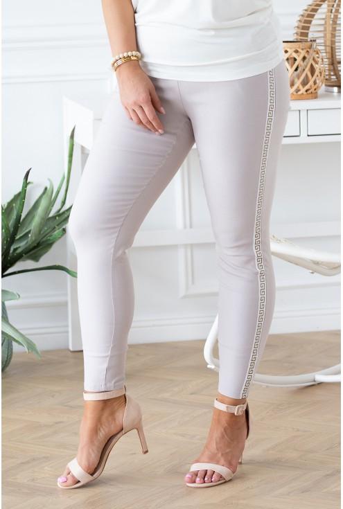 beżowe spodnie Catherine