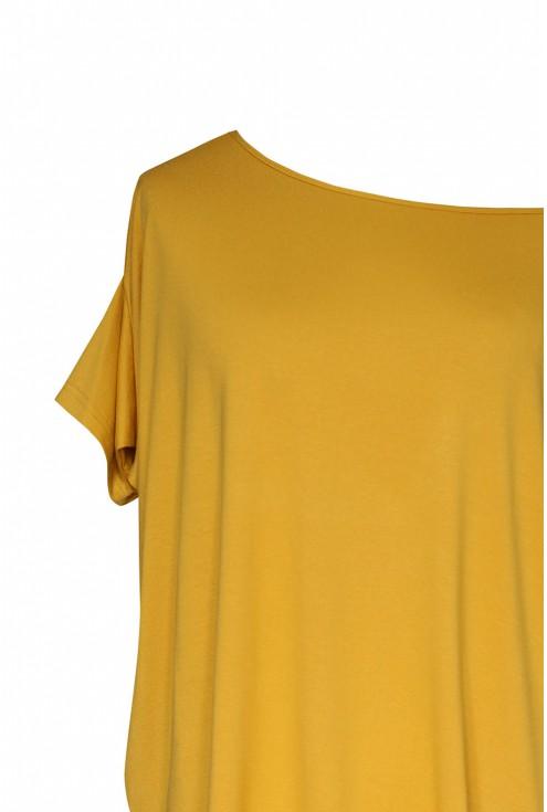 Miodowa bluzka oversize DAGMARA